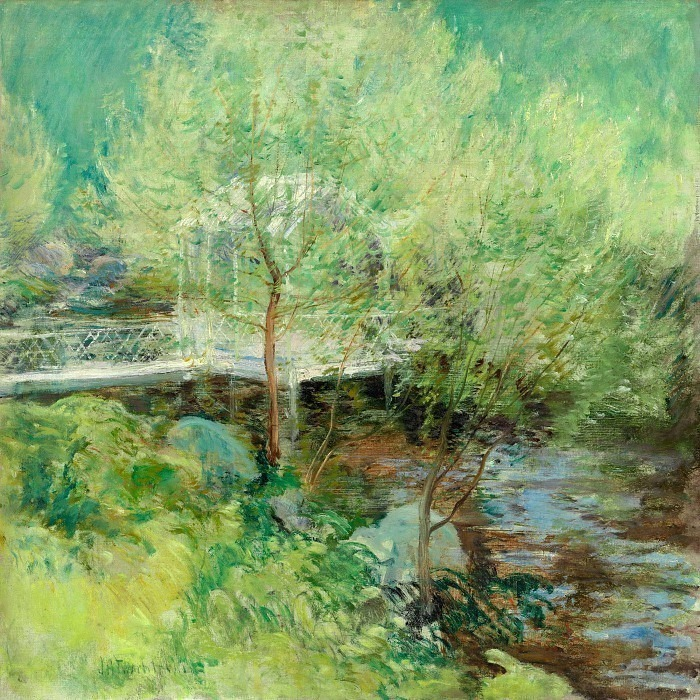 twachtman the white bridge 1895-1900. John Henry Twachtmann