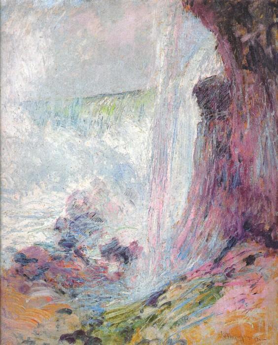 twachtman niagara falls c1894. John Henry Twachtmann