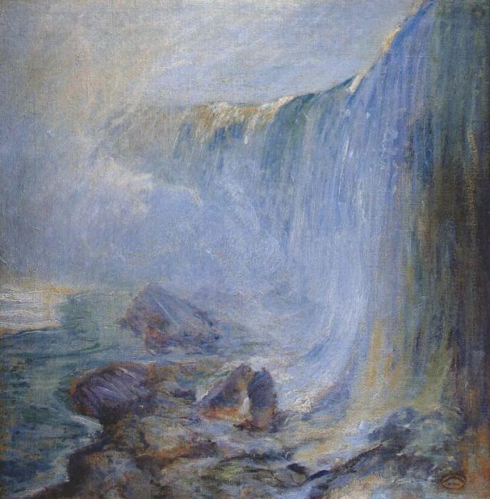 twachtman niagara falls c1893-4. John Henry Twachtmann