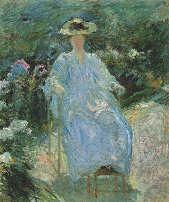 twachtman in the sunlight c1893. Джон Генри Твахтман