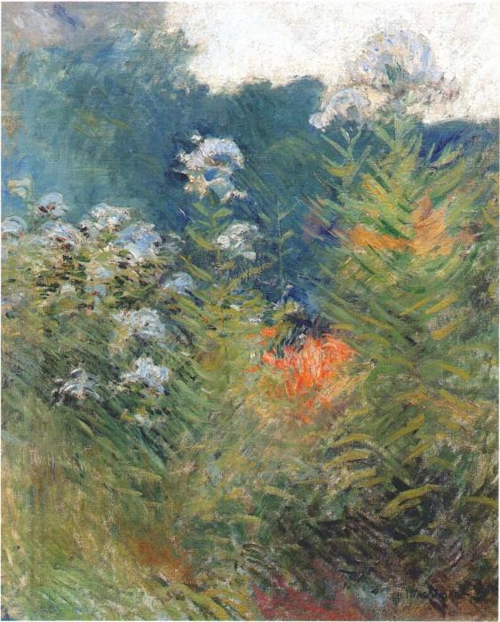 twachtman wildflowers c1890-95. John Henry Twachtmann