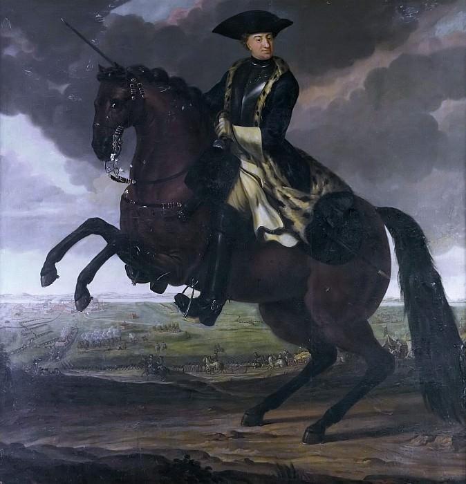 Karl XII (1682-1718), King of Sweden Pfalzgreve of Zweibrücken. Anders Johansson von Cöln. Tillskriven (Attributed)