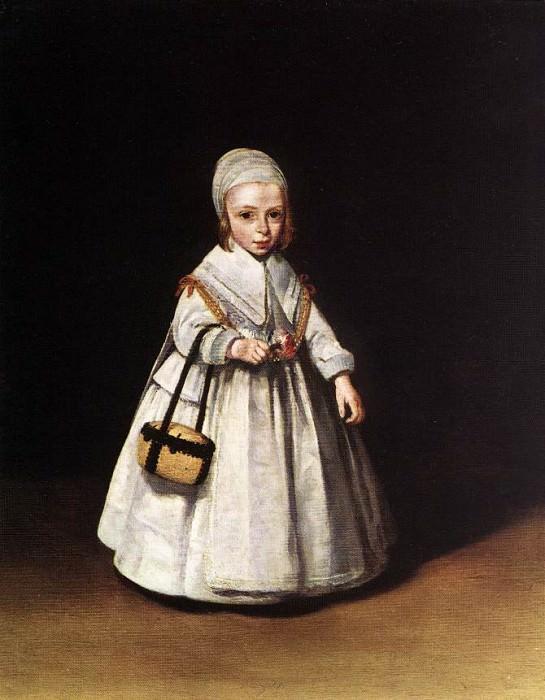 Helena van der Schalcke as a Child WGA. Gerard Terborch