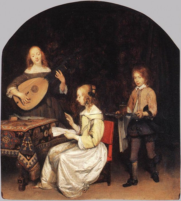 The Concert. Gerard Terborch