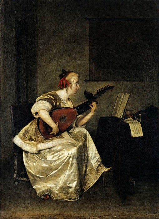 luteplay. Gerard Terborch