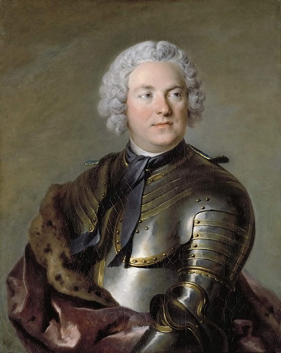 Count Carl Gustaf Tessin. Louis Tocque