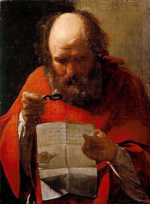 Saint Jerome Reading. Georges de La Tour