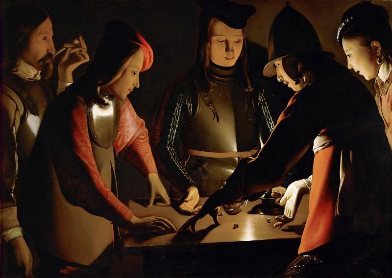 Игроки в кости. Жорж де Латур
