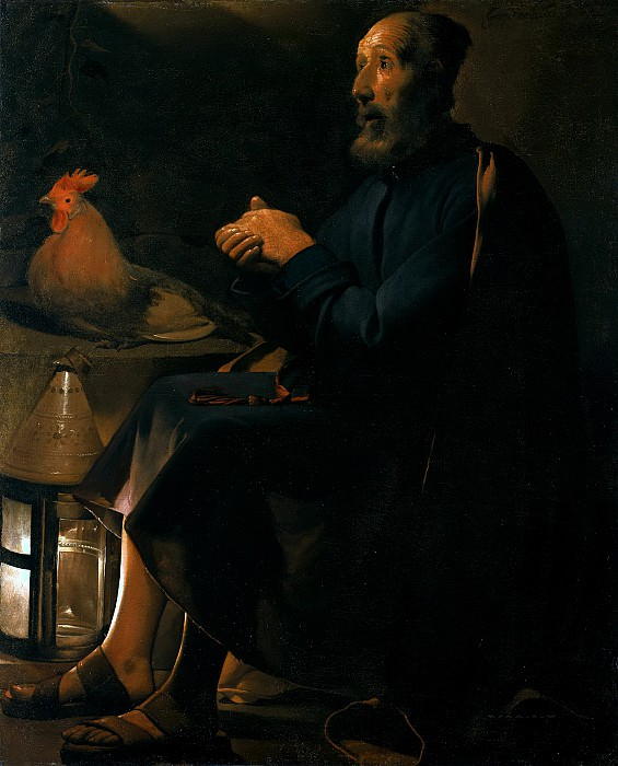 St. Peter Repentant. Georges de La Tour