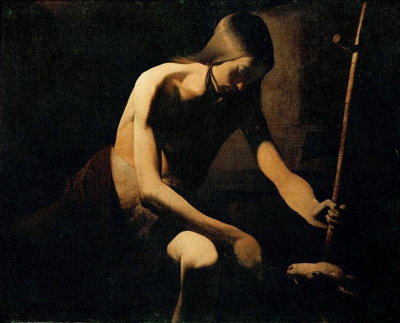 Иоанн Креститель в пустоши. Жорж де Латур