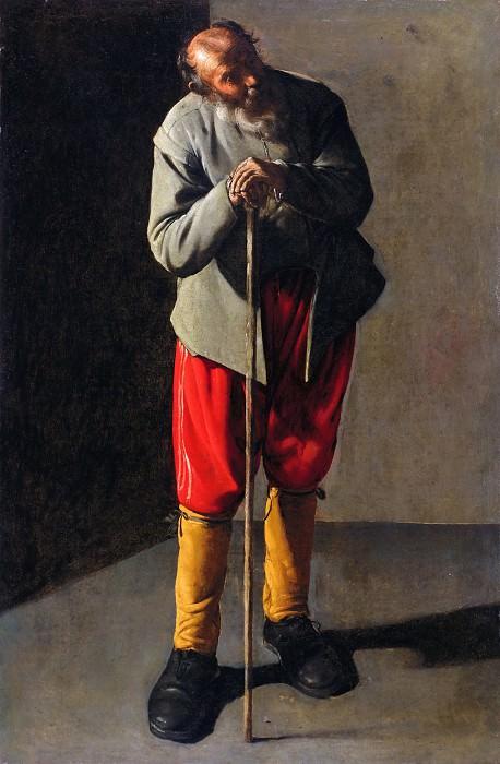 Старик. Жорж де Латур