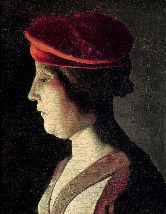 Голова женщины. Жорж де Латур