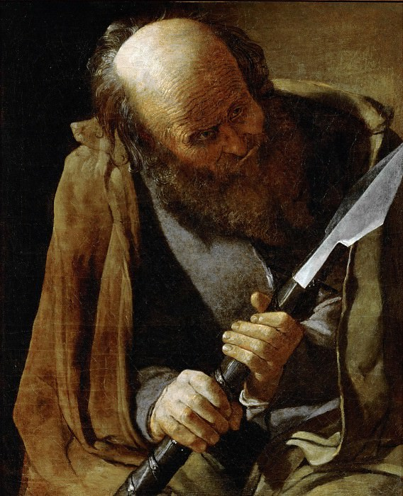 Святой Фома. Жорж де Латур