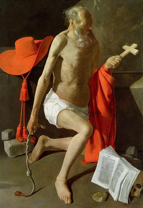Penitence of Saint Jerome. Georges de La Tour