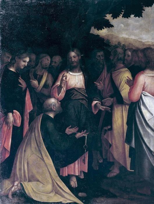 Христос даёт ключи апостолу Петру. Талпино (Энеа Салмеджиа)