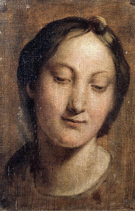 Голова Девы Марии. Талпино (Энеа Салмеджиа)