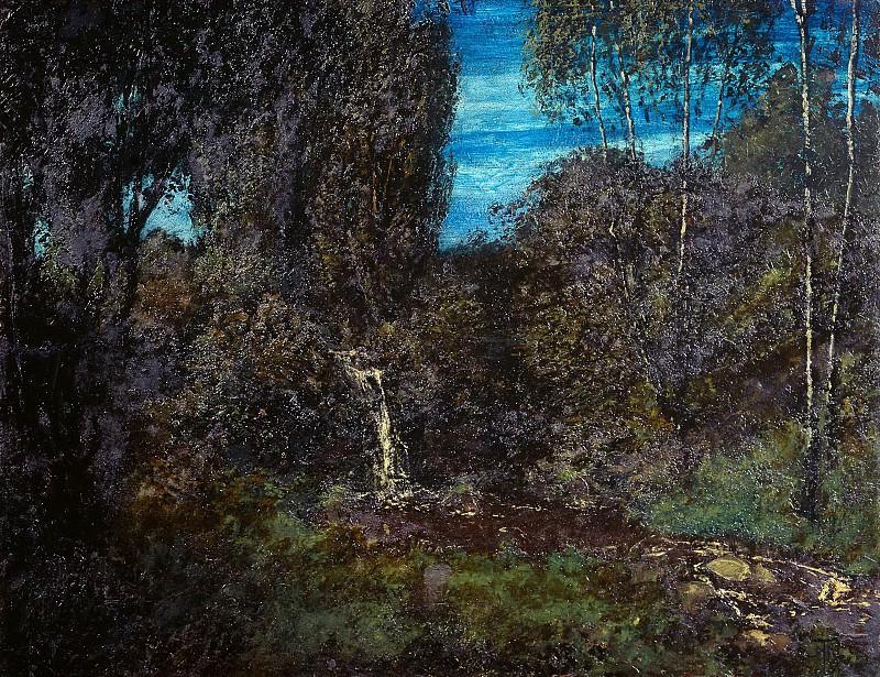 Лесной пейзаж. Ганс Тома