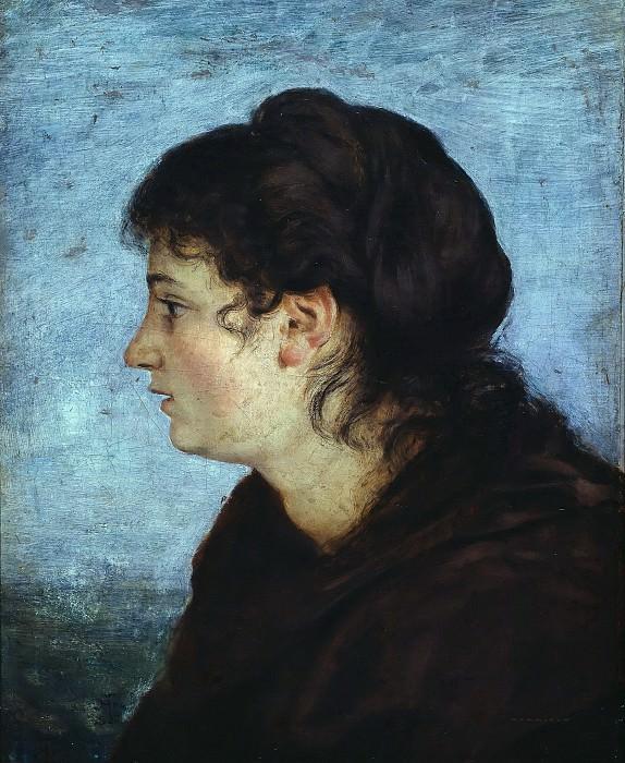Frau Cella Thoma. Hans Thoma
