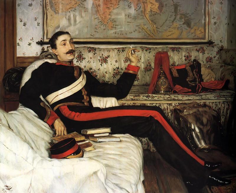 Colonel Frederick Gustavus Barnaby. Jacques Joseph Tissot