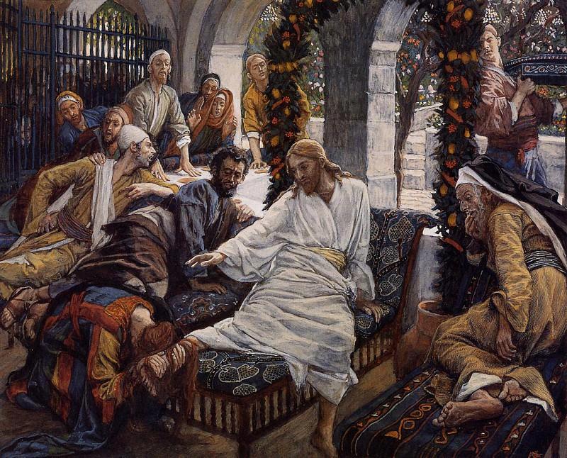 Tissot Mary Magdalene-s Box of Very Precious Ointment. Джеймс Тиссо