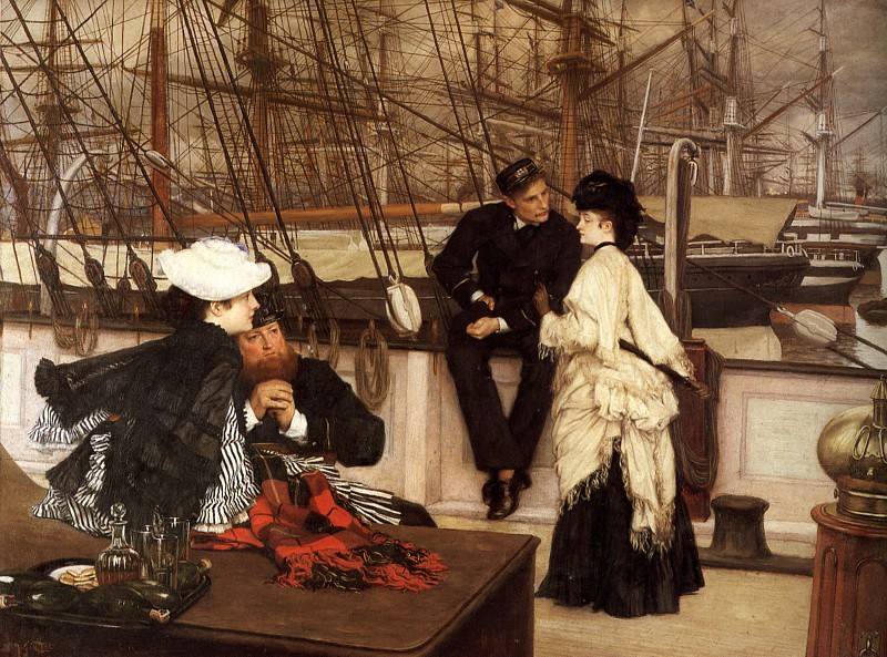 The Captain and the Mate. Jacques Joseph Tissot