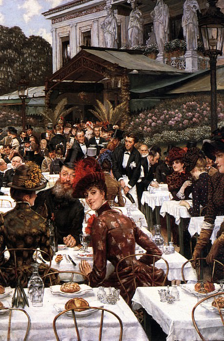 The Artists Ladies. Jacques Joseph Tissot