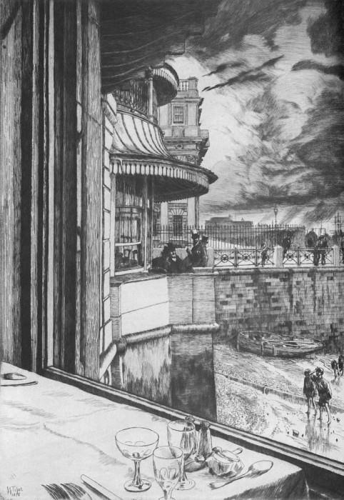 Tissot Trafalgar Tavern Greenwich. Jacques Joseph Tissot