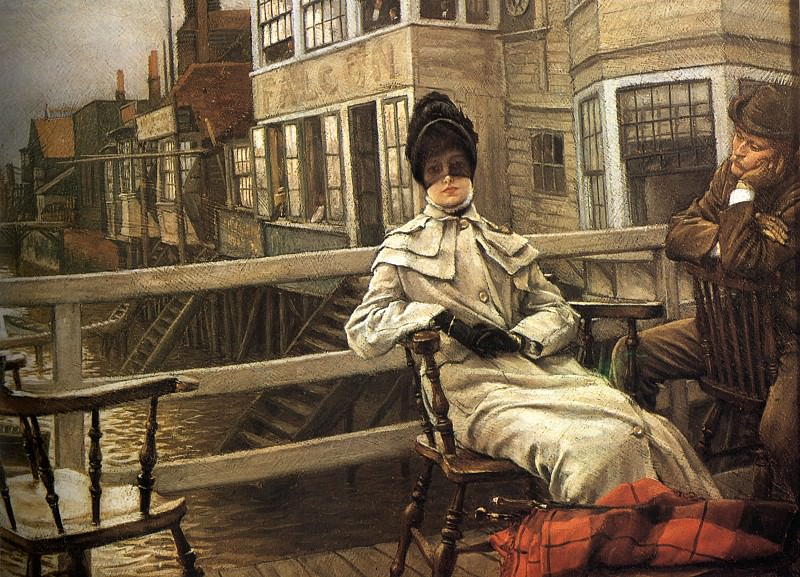 Waiting for the Ferry 2. Jacques Joseph Tissot