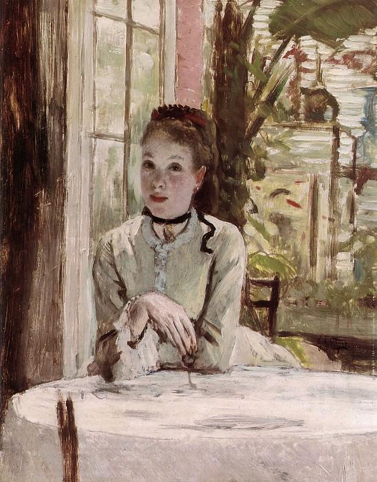 A Woman in an elegant Interior. Jacques Joseph Tissot