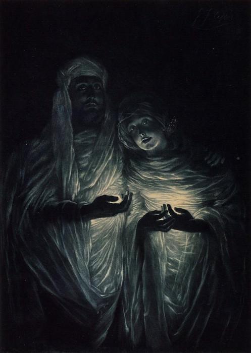 Tissot The Apparition. Jacques Joseph Tissot