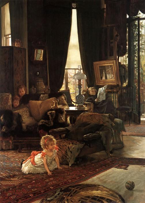 Hide and Seek. Jacques Joseph Tissot