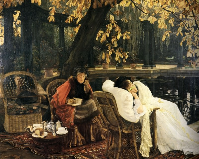 A Convalescent. Jacques Joseph Tissot