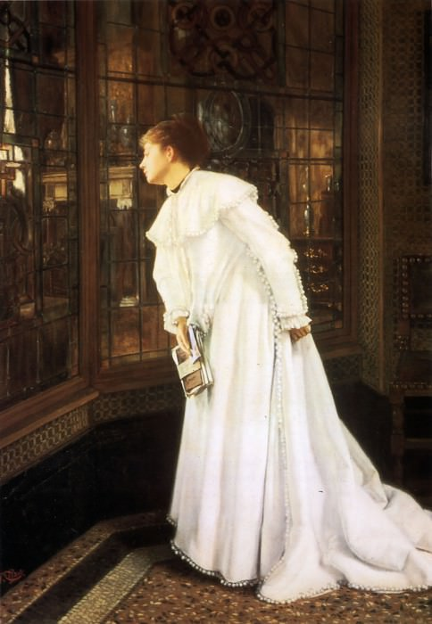The Stairs. Jacques Joseph Tissot