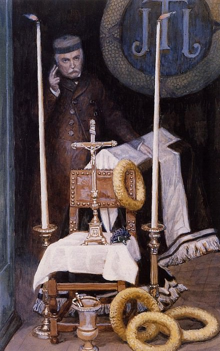 Tissot Portrait of the Pilgrim. Jacques Joseph Tissot