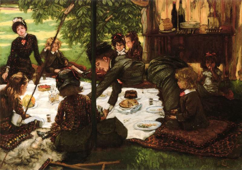 Childrens Party. Jacques Joseph Tissot