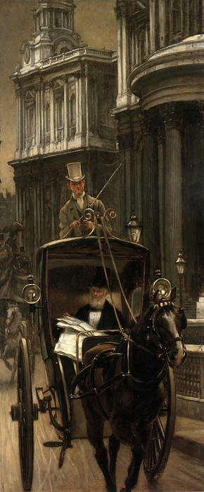 Going to Business. Jacques Joseph Tissot
