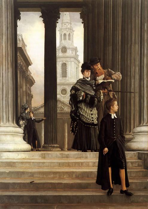 London Visitors. Jacques Joseph Tissot