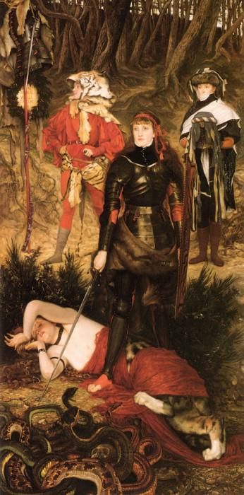 Triumph Of The Will The Challenge. Jacques Joseph Tissot