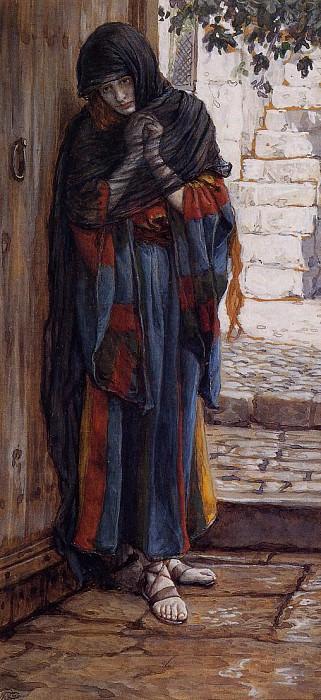Tissot The Repentant Magdalene. Джеймс Тиссо