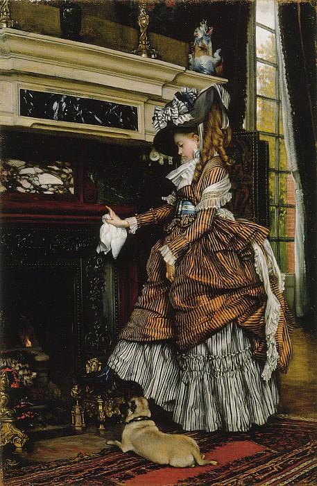 La cheminee. Jacques Joseph Tissot