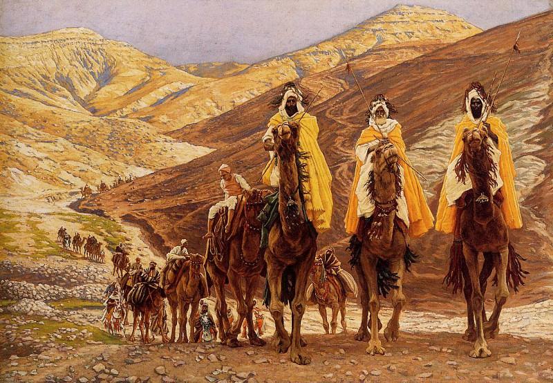 Tissot Journey of the Magi. Jacques Joseph Tissot