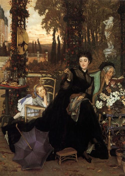 A Widow. Jacques Joseph Tissot