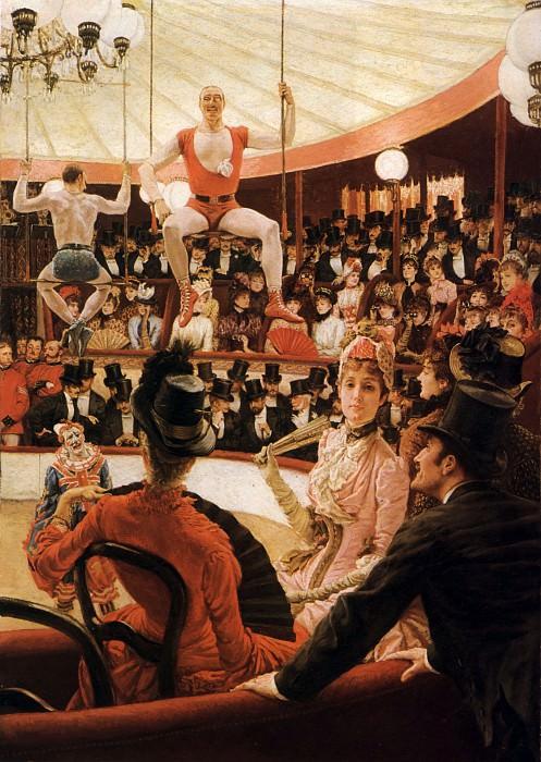 The Sporting Ladies. Jacques Joseph Tissot