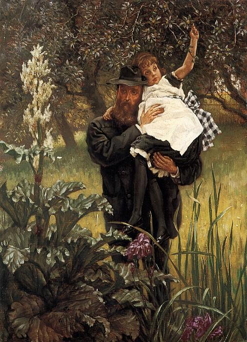 The Widower. Jacques Joseph Tissot
