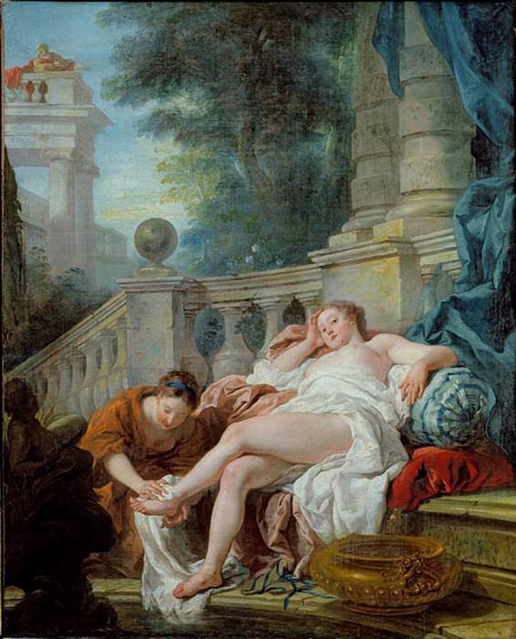 The Bath of Bethsheba. Jean Francois De Troy