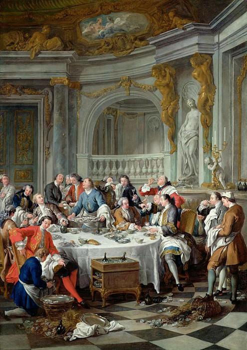Обед с устрицами. Жан-Франсуа де Труа