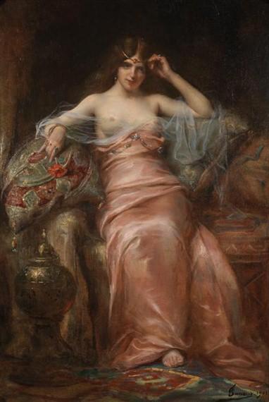 La belle orientale. Henri Adriene Tanoux
