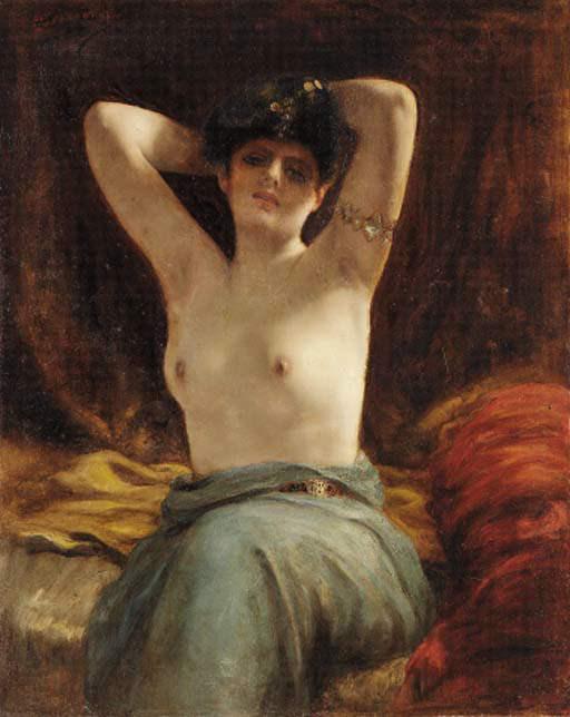 Harem beauty 2. Henri Adriene Tanoux