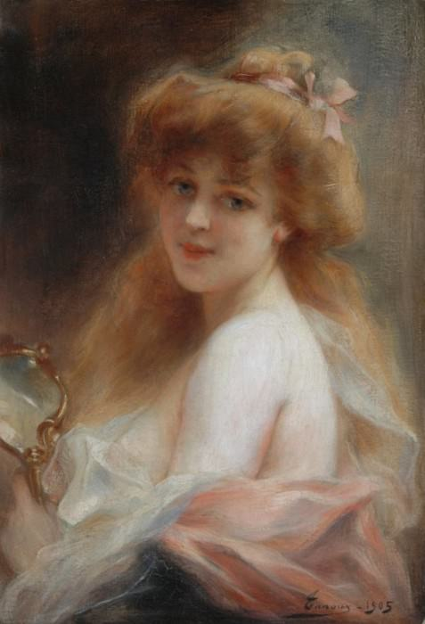 Reflection. Henri Adriene Tanoux