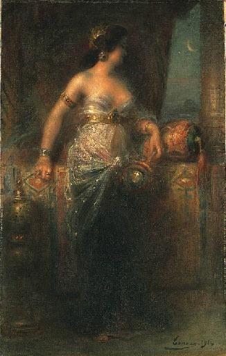 AN ODALISQUE. Henri Adriene Tanoux